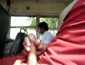 my latino daddy in the bus
