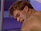 Gay Porn - Subway fuck (with half cum in ass)