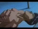 Muscle yaoi guy gets BJ from trainer - rape scene.