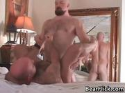 Don James and Justin Wood pleasing their stiff cocks by BearFlick