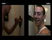 This straight boy comes into the gloryhole looking for a blowjob and thats exactly what he finds! he just assumes its from a woman..