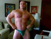 Some photos of most recent FlexBigMuscle photo updates. This guy has a great body!