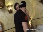 Two hot stunners named Arcanjo and Villa get together in a hotel room for our cameras only! Arcanjo is massively hung and knows how to get what he...
