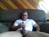 this guy has a huge cock and oddly enough appears to have a couch just as big. hes already at the peak at the start of the clip so its not long until that warm gooey mess is raining everywhere
