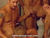 Sexy euro hunks having sex. Just a bunch of working guys who know how to relax when the day is done! Theyre all so hungry for cock!