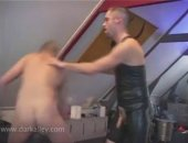 These kinky hunks are playing around with their gaping assholes in their fetish dungeon!