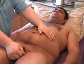 An Indian dude recently new to Canada wanted to check out the Bi side of things since he had always been curious.  RJ was so eager to try some hairy bear cock!