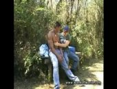 Two best mates who are back packing around South America get horny whilst walking through a jungle !
