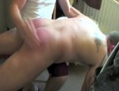 Real life brothers Andy and Patrick Lee in mm spanking action. Hard OTK hand spanking. Straight Brothers!