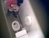 Found this great spycam video. Guy seaks off into the lav. for a quick wank. I love spying!