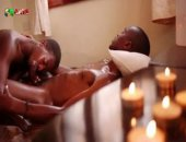 This Oily and Slippery Massage goes dirty fast. These two black hunks oil up their chests and slip their cocks into each others mouths. Feeling so great it only takes a short time for them to bust loads all over!