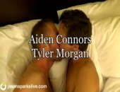 Content Zip 	Content Zip 	Since Aiden and Tyler met they have found it difficult to keep their hands off each other. But Jason Sparks has been trying to stop them from going all the way so that their first experience together can be caught on f