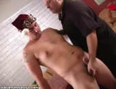 Curious hairy hunk Gunner grows harder and harder as he gets one hell of a handjob!