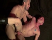 Hung Euro-stud Peto Coast meets eager bottom Patrick OConnor and in one swoop, has him on his knees worshipping his big uncut cock. Wasting no time, he teases Patricks hole slowly before railing him senseless and unloading a thick hot load all