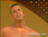 Watch these hot hunks having hot fucking session. One giving the other an intense blowjob and then fucking him like no tomorrow. Check it out 3000 gay videos at www.topmansite.com. more hot hunks at www.hunkmachine.com