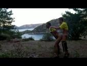 Turkish studs film their outdoor sex