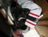 Cum on sneakers