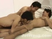 Hot Gay Asian Fuck Clip. Sexy smooth, slim and tight. Both lads sure loves to suck and fuck. Watch them at jetwang.com