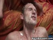 Awesome movie sample of these wild men in a steamy gay anal fucking with nasty cum shots and swapping. Hot bareback sex stroking hole and cumswapping.