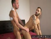Esteban fucks Italo with his huge cock