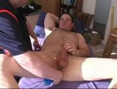 amateur bear cub gets toyed by his daddy