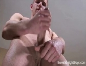 Rex is possibly one of our tallest models on BSB and has a dick that fits his size. Watch as Rex does a solo jerk off that ends in one of the biggest loads of all time. It will leave you panting for more!