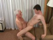 Old Mature Guy Fucks His Young Partner.