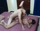 Our versatile gay Asian twink Vahn meets up with the slim and oh so cute Asian boy Benjamin in this double cutie bareback ass pounding scene.