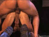 Rickys stout boner slides in and out, much to Daks delight