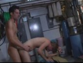 After-school at the car wash, big-dicked Brenden David and first-timer Alex Christianson take a sex break in the machinery room! Adorable twink Alex drops to his knees and gives a full-service blowjob to Brendens meaty ten-inch piece. After swapping licks and kisses, Brenden pushes Alex over a steel drum and stuffs him with red-hot poker! With all the big dicks involved, you can really see all the long-dicking! Brenden gives Alex a big, sloppy facial. Then Alex ejaculates his creamy jizz all ove