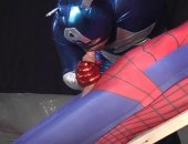 spandex suits and sucking dick