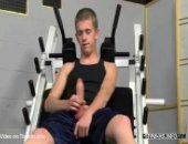 blowing on gym equipment