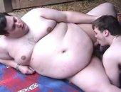twink gets tag teamed by the fattest of fatties