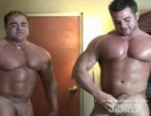 Horny Muscle Dude Jerking Off Their Cock.