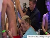 Hot Stripper Got His Cock Sucked By His Gay Customers.