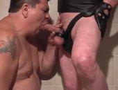 Hot Bear Giving his Partner a nice blowjob.
