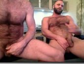 Amateur Bears JErking Off Their Cock on Cam.