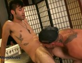 Horny Dudes Sucking Each Others Cock.