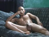 Horny Guy Jerking Off His Cock and Makes Cum.