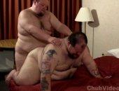 Horny Fat Guys Sucking and Fucking HArd.