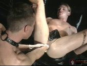 Hot Leather Guy Taking a Brutal Ass Fisting.