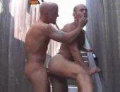 HOrny Couple Having a nice anal hardcore sex on the street corner.