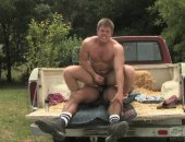 Horny Couple Having a nice Anal Hardcore Sex in the Truck.