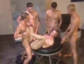 Hot Anal Group Sex After Sucking Cock in the Glory Hole.
