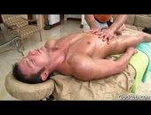 Muscle Massage Handjob and Blowjob.
