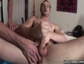 Gay Creep Rides Hard Cock.