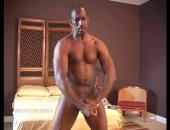 Amateur Black Guy Jerking off his big black cock.