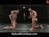 Hunks tear apart the mat