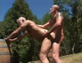Two Matures likes to fuck outdoor style.