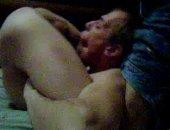 a flexible boy sucking his own dick.
